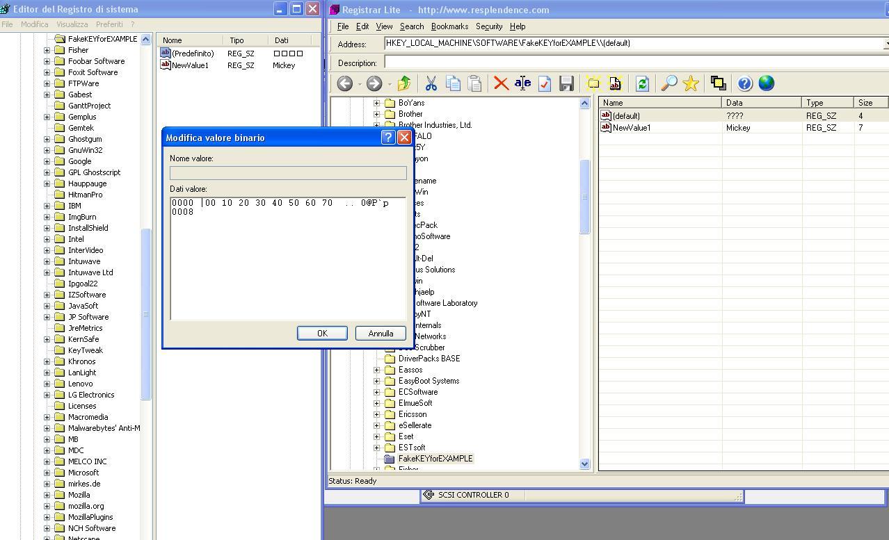 Registry binary value converter online