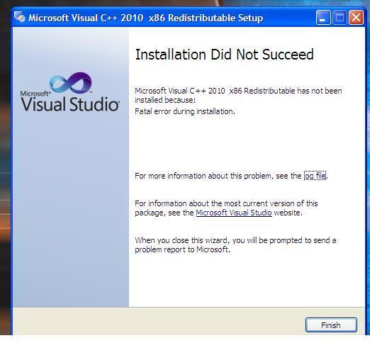 what is microsoft visual c++ 2010 redistributable package (x86)