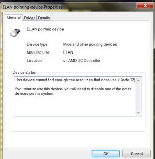 ELAN driver not working on Windows 7 - Windows 7 - MSFN