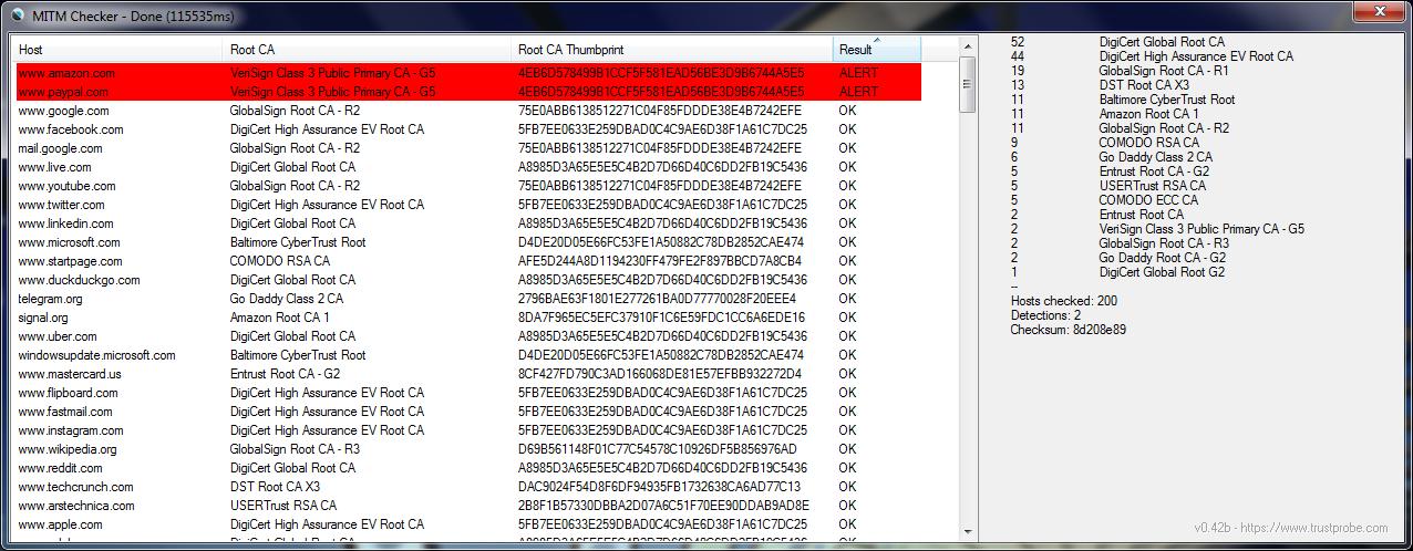 MITM Checker - Windows XP - MSFN