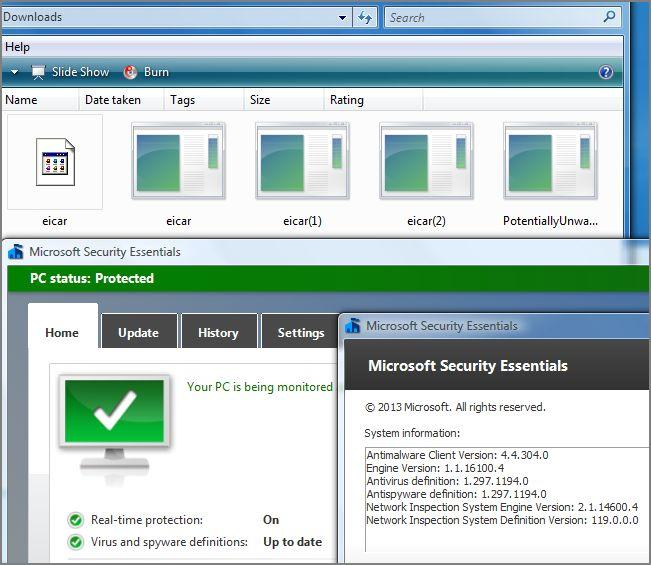MSE For Vista Now Shows XP Nag Screens - Page 3 - Windows