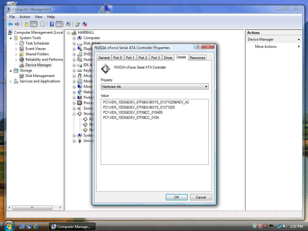 Gateway GT4230m NVIDIA SATA RAID 64x
