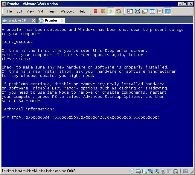 WInPE 3 0 + Google Chrome Portable = BSoD! - Windows PE - MSFN