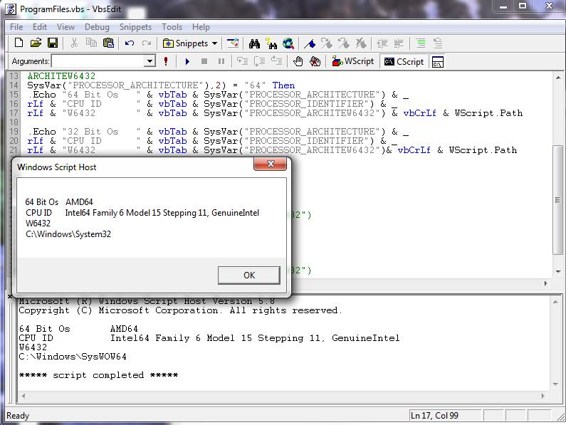 objShell Run issues    - Page 3 - Programming (C++, Delphi, VB/VBS