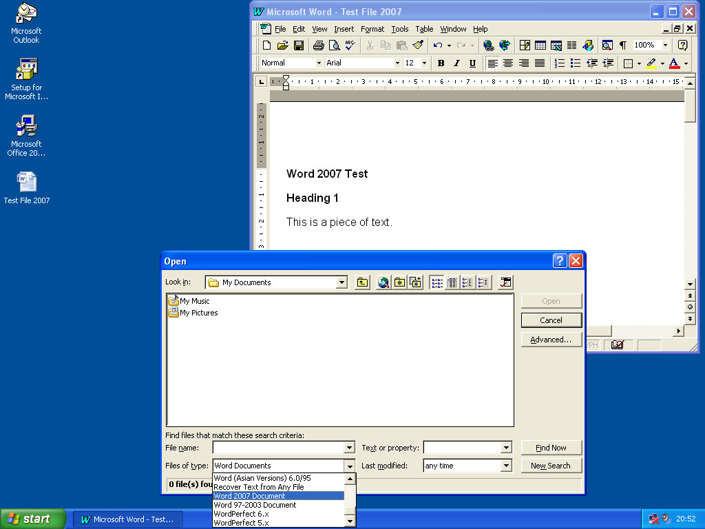 MS Office 2007 Compatibility Pack with Office 97 - Microsoft Office